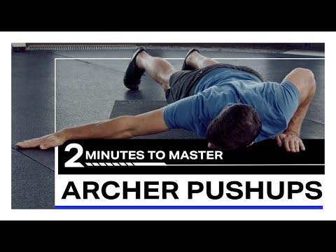 Archer Pushups | Freeletics 2 Minutes to Master