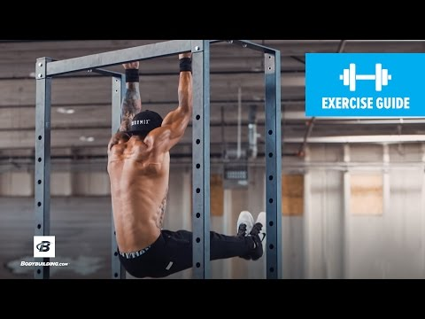 L-Sit Chin-Up   Exercise Guide