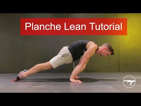 How To Planche Lean - Planche Progression Tutorial