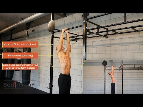 Commando Pull Up - Intermediate