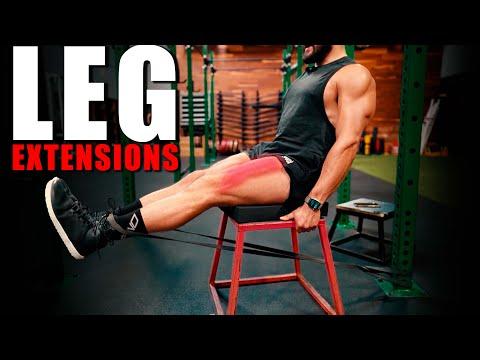 Resistance Band Leg Extensions | Eric Leija