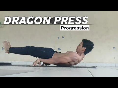 Dragon Press Progression - Hard Element in Calisthenics | By Alan Tadzlilan