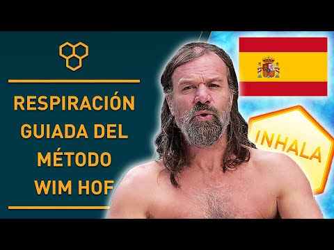 Spanish Guided Wim Hof Breathing Exercises (3 Rounds Slow Pace)