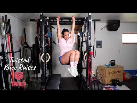 Twisted Knee Raises