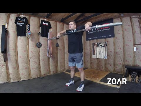 Snatch Grip Upright Row (Strict or with Momentum)