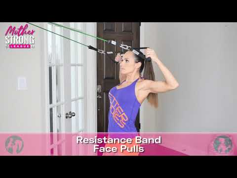 Resistance Band Face Pulls