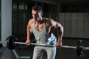 El Remo Inclinado es un ejercicio para el grosor de la espalda.